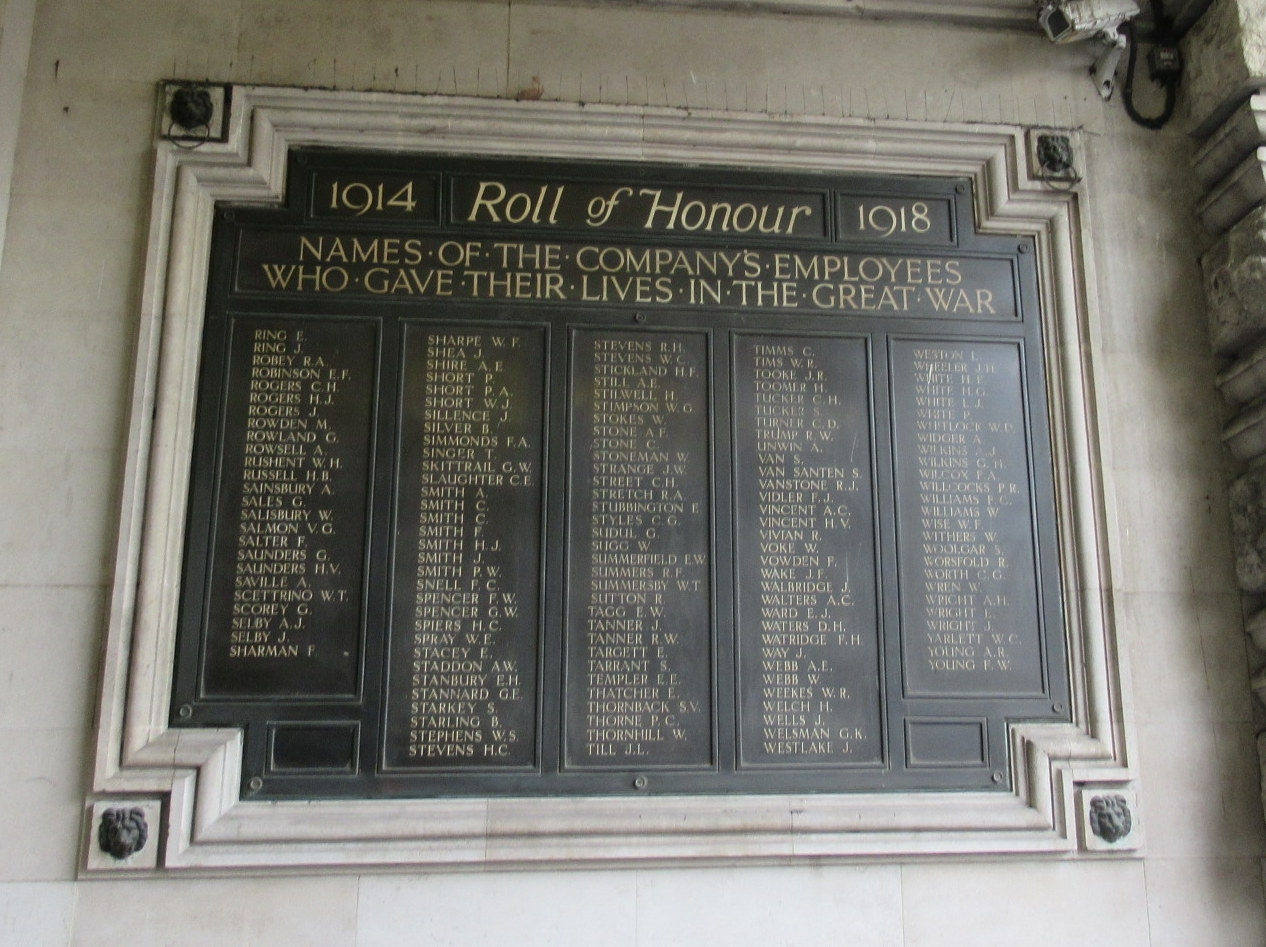 Roll of Honor Marker