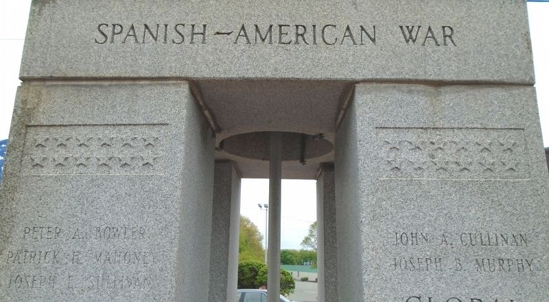 War Memorial Spanish-American War Honored Dead image. Click for full size.