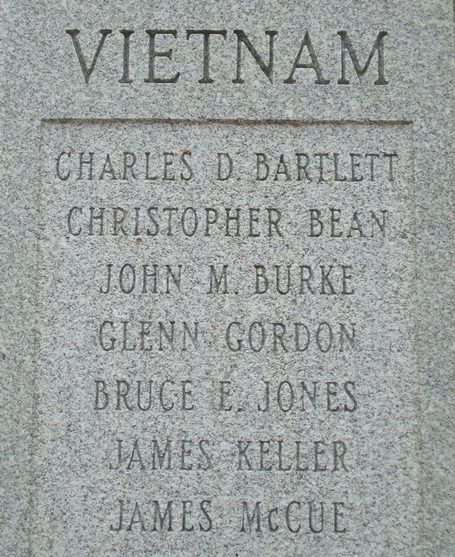 War Memorial Vietnam War Honored Dead image. Click for full size.