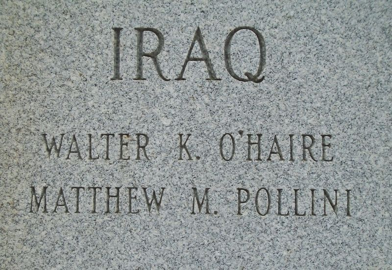 War Memorial Iraq [OIF] Honored Dead image. Click for full size.