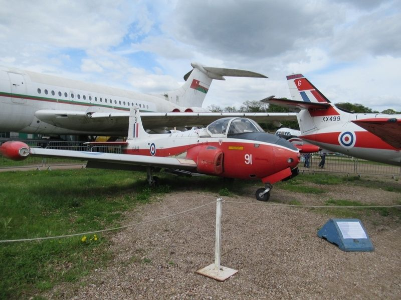 BAC/Hunting Jet Provost image. Click for full size.