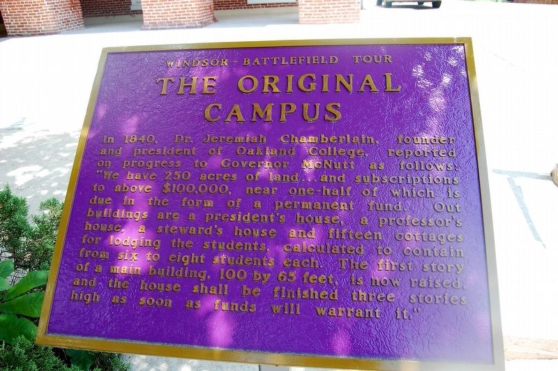 The Original Campus Marker image. Click for full size.