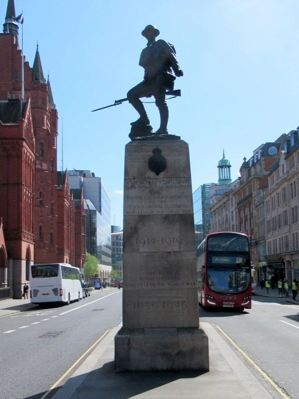 Royal Fusiliers Memorial image. Click for full size.