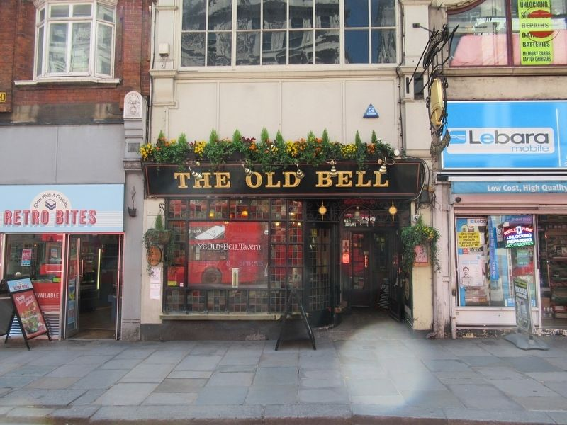 The Old Bell Tavern image. Click for full size.