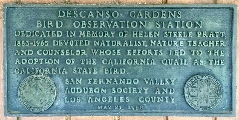 Descanso Gardens Marker image. Click for full size.