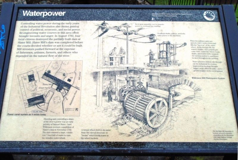 Waterpower Marker image. Click for full size.