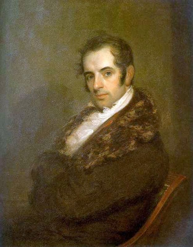 Washington Irving image. Click for full size.