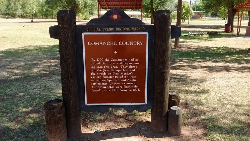Comanche Country Marker image. Click for full size.