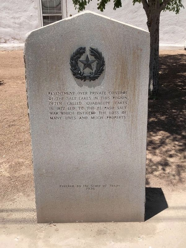 Salt War Marker image. Click for full size.