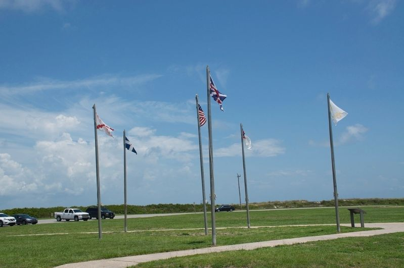 Colors of Significance Historic Flags of Mobile Point Marker image, Touch for more information