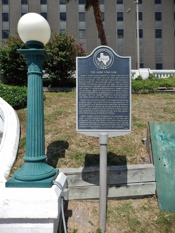 The Lone Star Fair Marker (<i>tall view</i>) image. Click for full size.