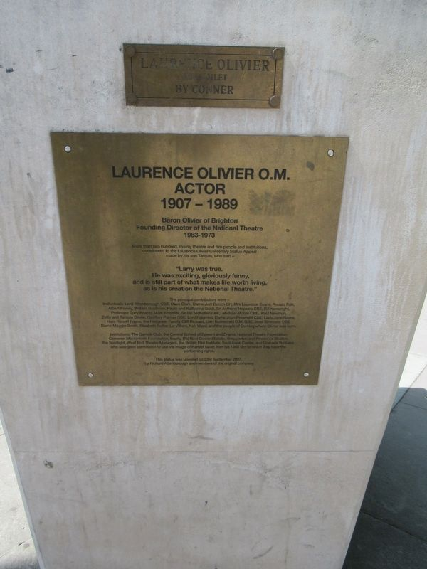 Laurence Olivier Marker image. Click for full size.