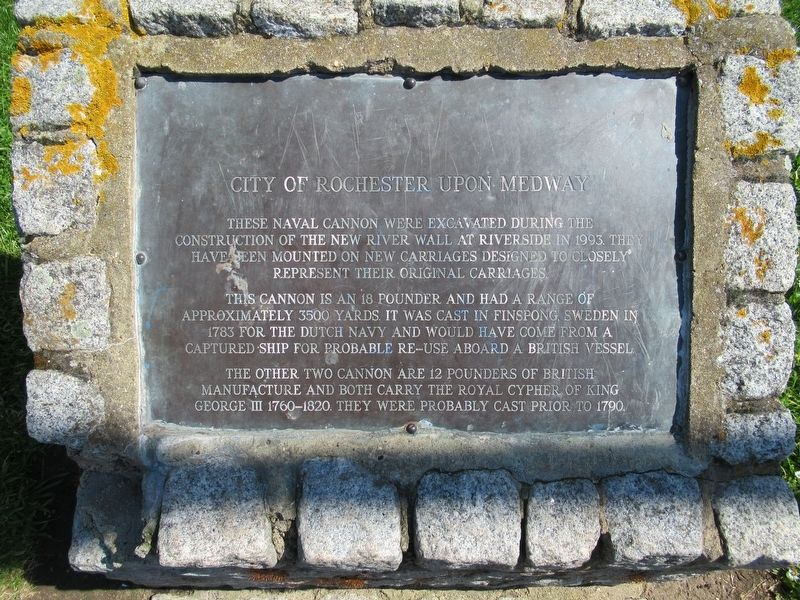 City of Rochester Upon Medway Marker image. Click for full size.