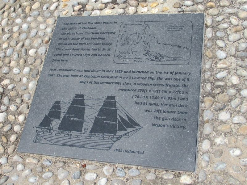 The Bell Mast Marker 1 image. Click for full size.