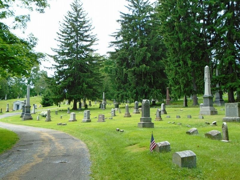 Hillside Cemetery View image. Click for full size.