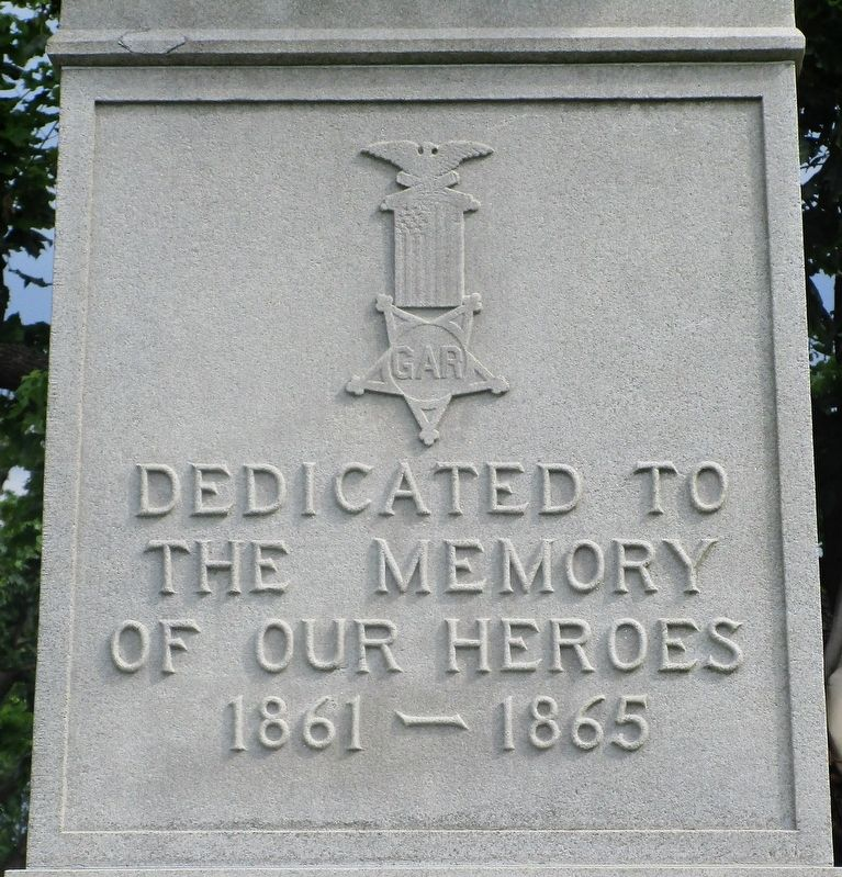 Cedarville Civil War Monument Marker image. Click for full size.