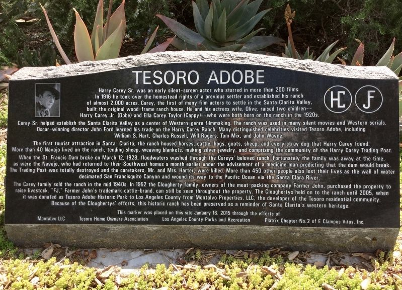 Tesoro Adobe Marker image. Click for full size.