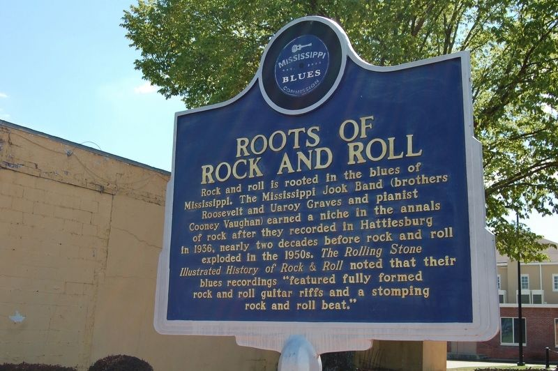 Roots of Rock and Roll Marker image. Click for full size.