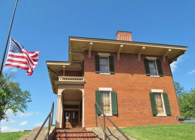 Ulysses S. Grant Home image. Click for full size.