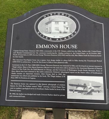 Emmons House Marker image. Click for full size.