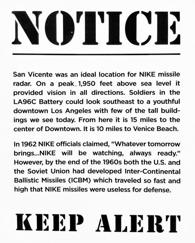 Nike Missile Site image. Click for full size.