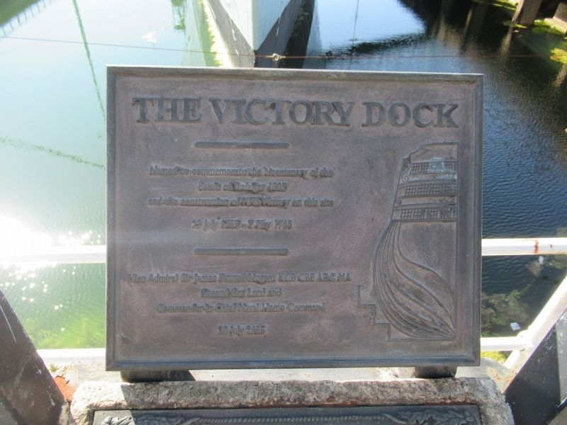 The Victory Dock Marker image. Click for full size.