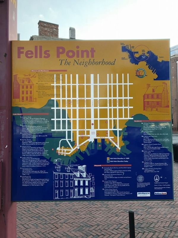 Fells Point Marker image. Click for full size.