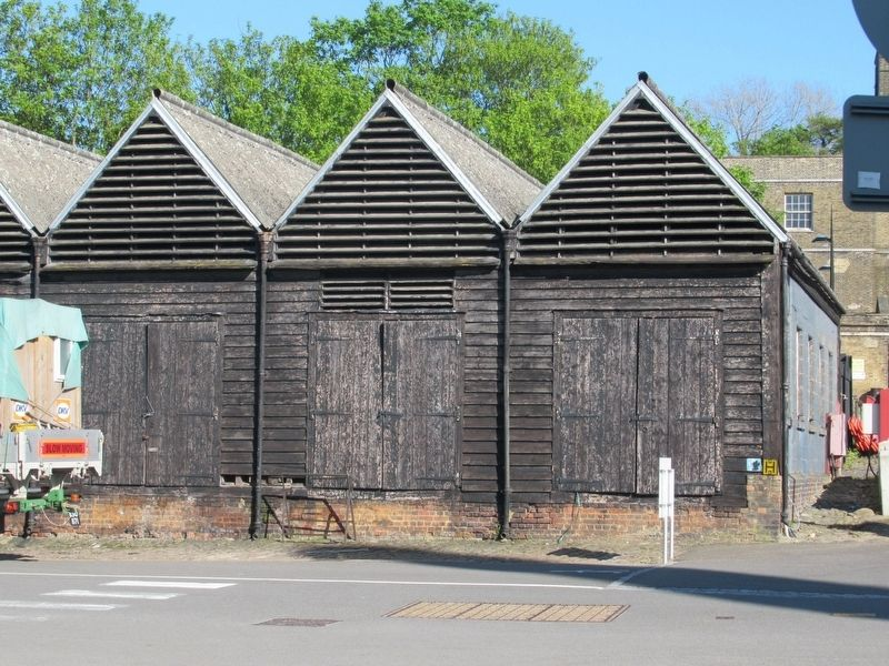 Timber Seasoning Sheds, 1774 image. Click for full size.