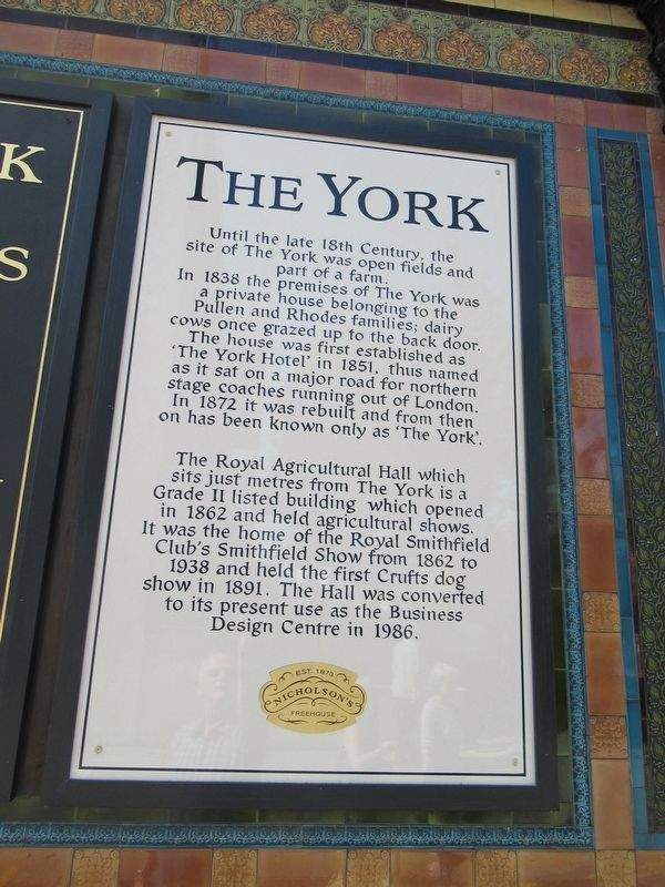 The York Marker image. Click for full size.