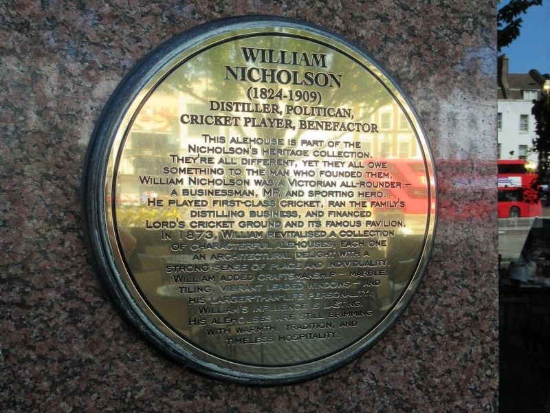 William Nicholson Marker image. Click for full size.