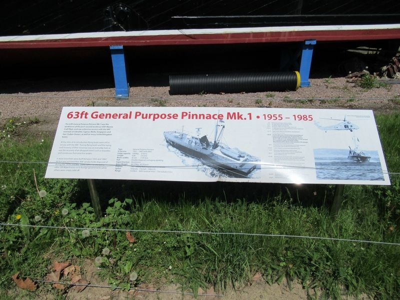 63ft General Purpose Pinnace Mk. 1 Marker image. Click for full size.