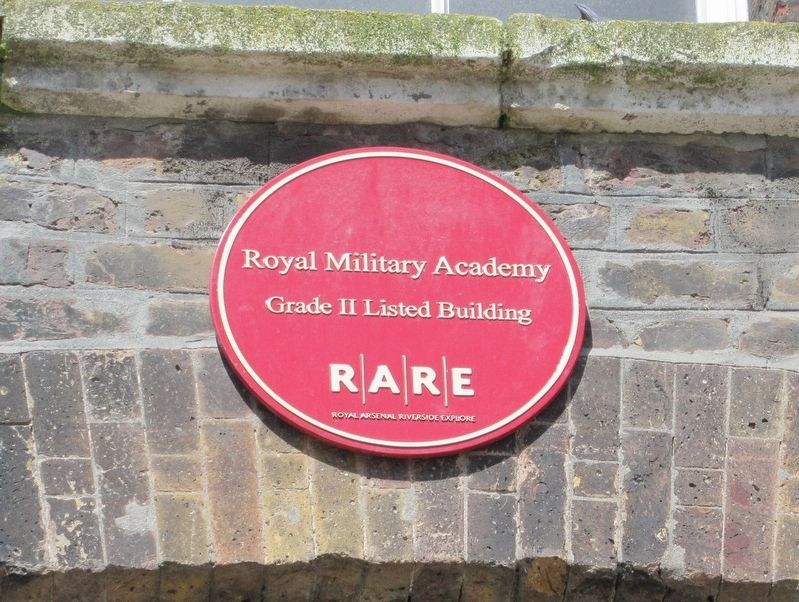 Royal Military Academy Marker image. Click for full size.