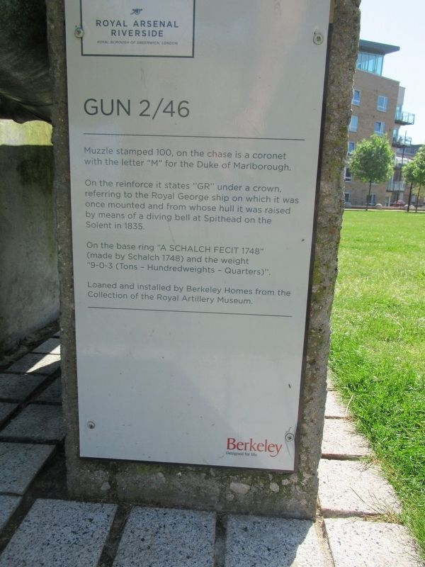 Gun 2/46 Marker image. Click for full size.