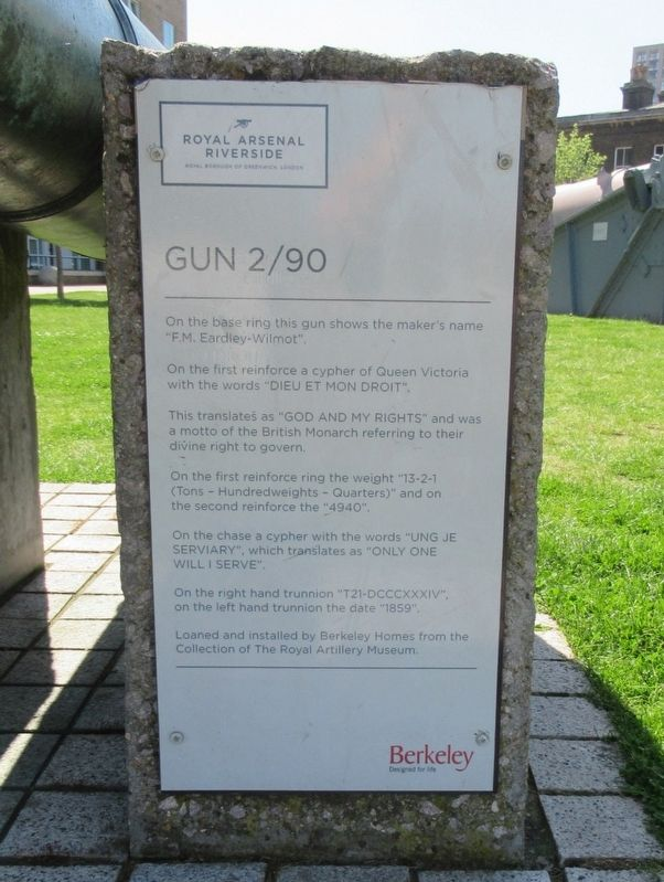 Gun 2/90 Marker image. Click for full size.