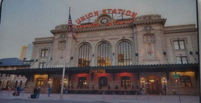 Marker detail: Union Station image. Click for full size.