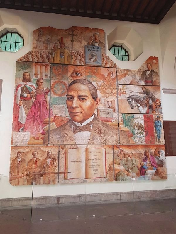One of the murals by Francisco Cauduro at the Casa de Corregimiento image. Click for full size.