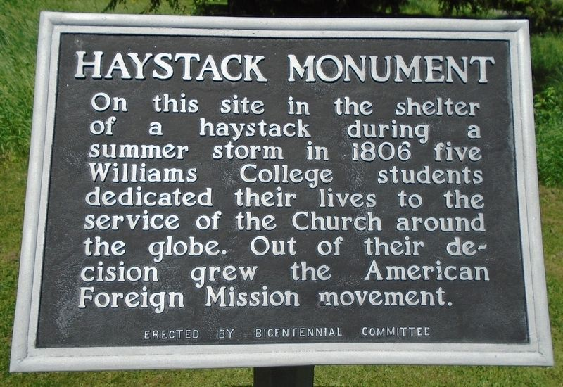 Haystack Monument Marker image. Click for full size.