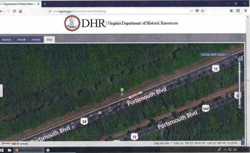 Exhibit E – A DHR Aerial Image. image. Click for full size.