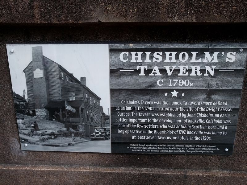 Chisolm's Tavern Marker image. Click for full size.