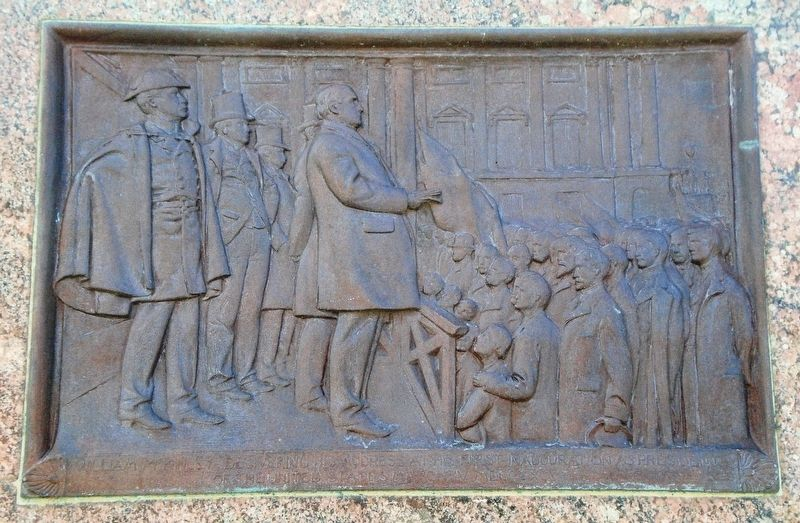 William McKinley Memorial Bas-Relief image. Click for full size.