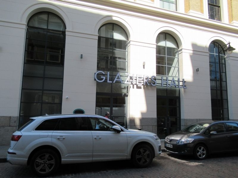 The Glaziers Hall image. Click for full size.
