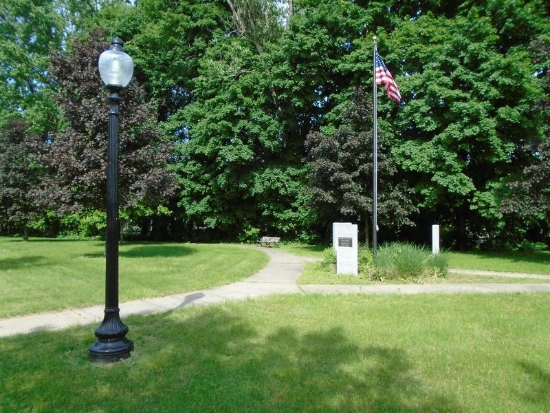 Columbia World War I Memorial Park and Markers image. Click for full size.