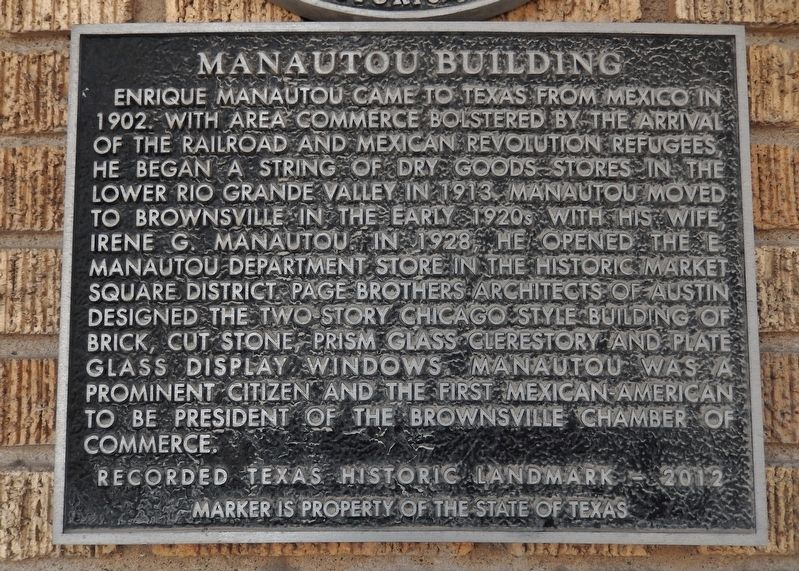 Manautou Building Marker image. Click for full size.