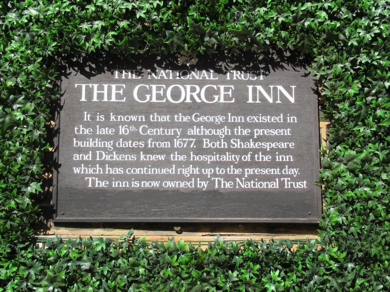 The George Inn Marker image. Click for full size.