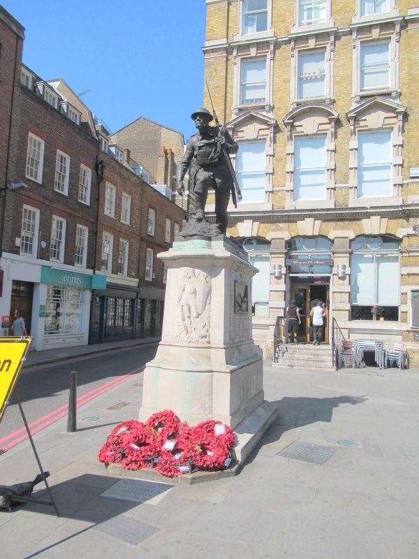 St. Saviour's Southwark World War I Memorial image. Click for full size.