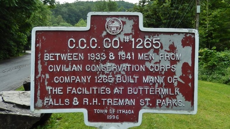 C.C.C. CO. #1265 Marker image. Click for full size.