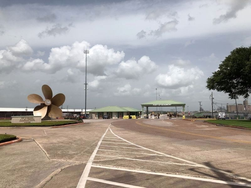Port of Beaumont Entrance image. Click for full size.
