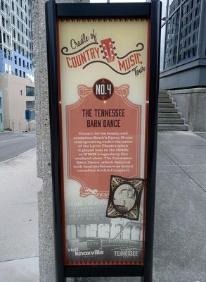 The Tennessee Barn Dance Marker image. Click for full size.