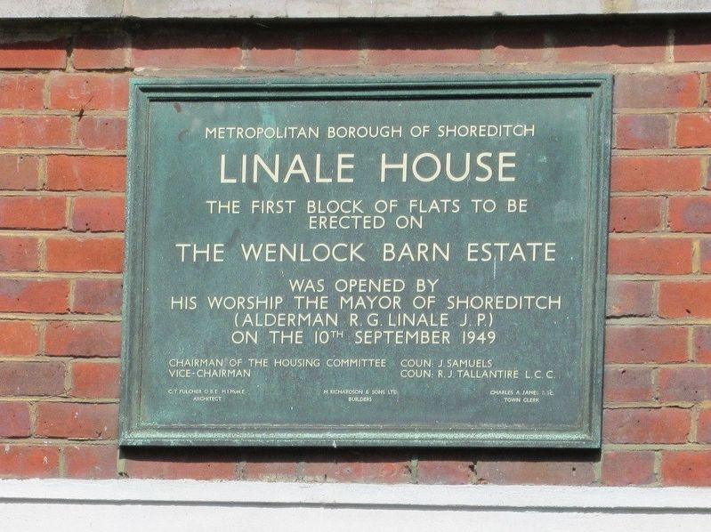 Linale House Marker image. Click for full size.