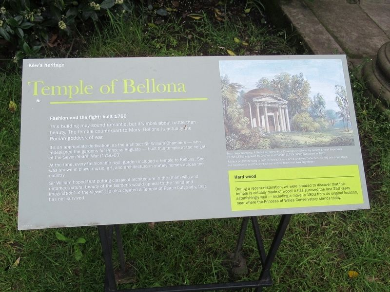 Temple of Bellona Marker image. Click for full size.